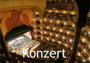 Musik für Konzert